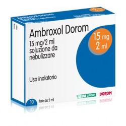 Teva Ambroxol Dorom Soluzione Nebulizzante 10 Fiale 2 ml 15 mg