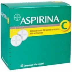 Bayer Aspirina C 40 Compresse Effervescenti 400 g + 240 g