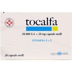 Anseris Farma Tocalfa 20 Capsule Molli