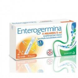 Sanofi Enterogermina Soluzione Orale 20 Flaconcini 4 miliardi/5 ml