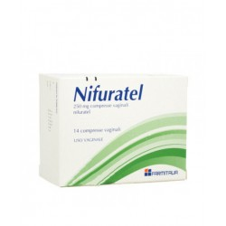 Nifuratel 14 Compresse Vag 250 Mg
