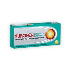 Reckitt Nurofen Influenza e Raffreddore 12 Compresse 200 mg + 30 mg