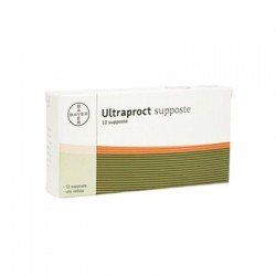 Bayer Ultraproct 12 Supposte per Emorroidi