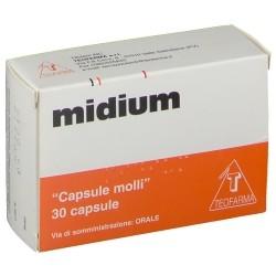 Teofarma Midium 30 Capsule per Carenza di Vitamine