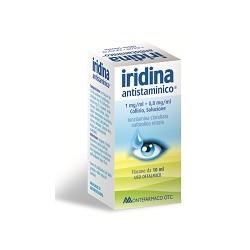 Montefarmaco Iridina Antistaminico Collirio 10 Mg + 8 Mg 10 Ml