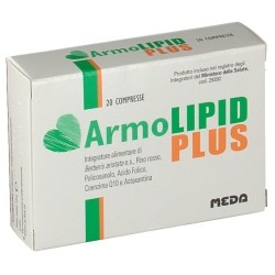 Meda Armolipid Plus 20 Compresse Integratore per Colesterolo