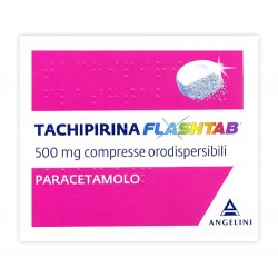 Angelini Tachipirina Flashtab 12 Compresse Dispersibili 250 Mg