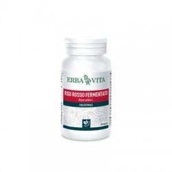 Erba Vita Riso Rosso 60 Capsule 450 mg Integratore per Colesterolo