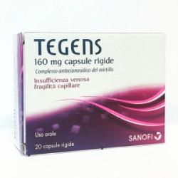 Sanofi Tegens 20 Capsule 160 mg per Insufficienza Venosa