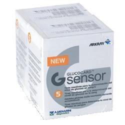 Menarini Diagnostics Glucocard G Sensor 2x5 Strisce
