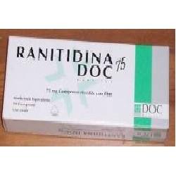 Ranitidina 10 Compresse Rivestite 75 Mg