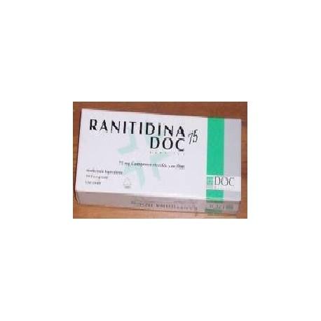 Ranitidina Doc Generici10 Cpr Riv 75 Mg