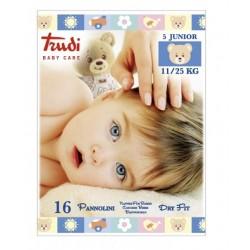 Silc Trudi Baby Care Pannolini Df J 11/25kg