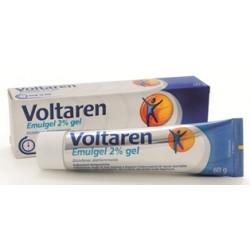 Novartis Voltaren Emulgel 2% Gel per Dolori Articolari 60 g