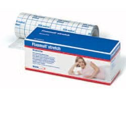 BSN Medical Fixomull Stretch 2 x 10 Fascia autoadesiva ipoallergenica per fissaggio cateteri