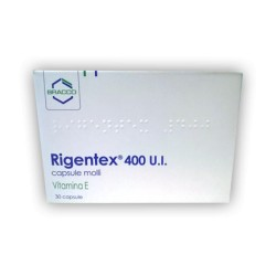 Dompe' Rigentex 30 Capsule Molli 400 UI