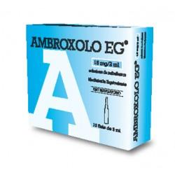 Eg Ambroxolo Soluzione Nebulizzante 10 fiale 15 mg 2 ml