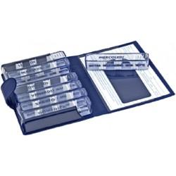 Farmacare Portapillole Settimanale Medidos Blu 10,5 X 15,5 X 2,5 cm