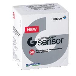 Menarini Strisce Misurazione Glicemia Glucocard G Sensor 50 Pezzi