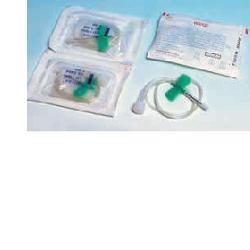 Farmac-Zabban Ago Per Infusione Con Alette Anallergico Gauge 25 Cuper 0,51mm
