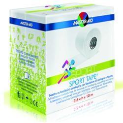 Pietrasanta Pharma Nastro Autoadesivo Anelastico Per Fasciature Di Sostegno E Taping Master-Aid Sport 3,8 X 10 m