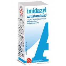 Recordati Imidazyl Antistaminico Collirio 10 ml 1 mg/ml + 1 mg/ml