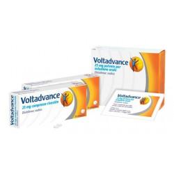 Glaxosmithkline C.Healt. Voltadvance Antinfiammatorio 20 Bustine 25 mg