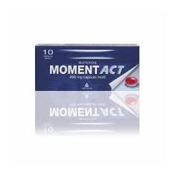 Angelini Momentact Antinfiammatorio 10 Capsule Molli 400 mg