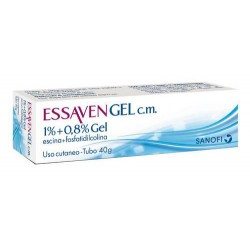 Sanofi Essaven Gel c.m. 40 g Gambe Gonfie e Pesanti 1% + 0,8%