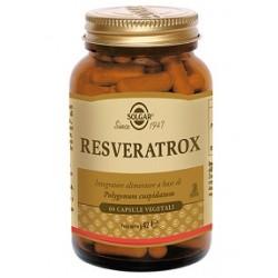 Solgar Resveratrox 60 Capsule Integratore Antiossidante