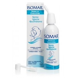 Euritalia Pharma Isomar Naso e Orecchie Spray Igiene Quotidiana acqua di mare 100ml