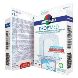 Medicazione Compressa Autoadesiva Dermoattiva Ipoallergenica Aerata Master-aid Drop Med 10,5x25 3 Pezzi