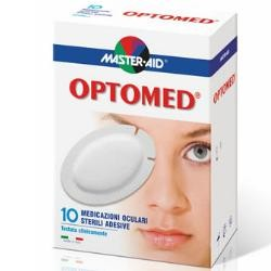 Pietrasanta Pharma Master Aid Optomed 10 medicazioni oculari sterili adesive 96x66 mm