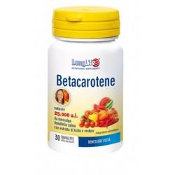Longlife Betacarotene Titolazione 25000 30 Tavolette Rivestite