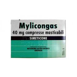 Johnson & Johnson Mylicongas 50 Compresse Masticabili 40 mg