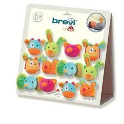 Brevi Color Zoo Braccialetti A Sonaglio 24 Pezzi