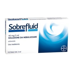 Pharmaidea Sobrefluid Soluzione Nebul 10 Fiale 40 Mg 3 Ml