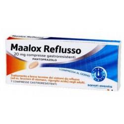 Sanofi Maalox Reflusso 7 Compresse Gastrores 20 Mg