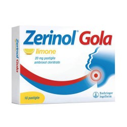 Sanofi Zerinol Gola Limone 18 Pastiglie 20 mg