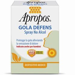 APROPOS GOLA DEFENS SPRAY NO ALCOL 20 ML