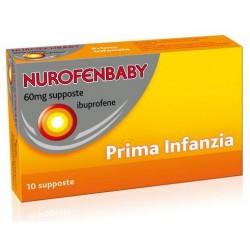 Reckitt Benckiser H. Nurofenbaby 10 Supposte 60 Mg Prima Infanzia