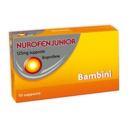 Reckitt Benckiser H. Nurofenjunior Analgesico 10 Supposte 125 mg