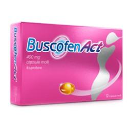 Sanofi Buscofenact Analgesico 12 Capsule Molli 400 mg