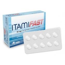 Fidia Farmaceutici Itamifast 10 Compresse Rivestite 25 Mg