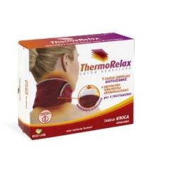 Alispharma Thermo Relax fascia collo caldo benessere con 3 bustine autoriscaldanti