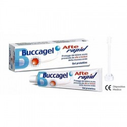 Curaden Healthcare Buccagel Afte Rapid gel protettivo 10ml