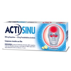 Johnson Actisinu 12 Compresse 200mg+30mg
