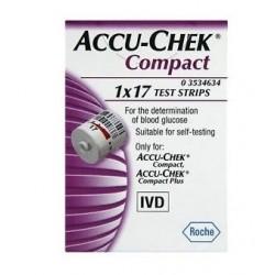 Roche Diabetes Care Italy Spa Misurazione Glicemia Accu-Chek 17 Pezzi