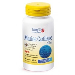 Longlife Marine Cartilage Extract integratore alimentare utile per vegani e vegetariani 90 capsule