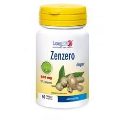 Longlife Zenzero 60 Capsule Integratore Anti Nausea
